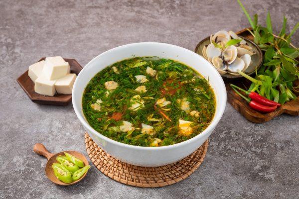 Canh Ngao Nau Chua 2