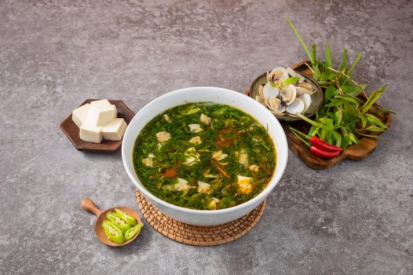 Canh Ngao Nau Chua 3